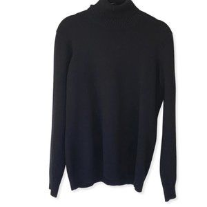 Banana Republic Black Italian Merino Sweater